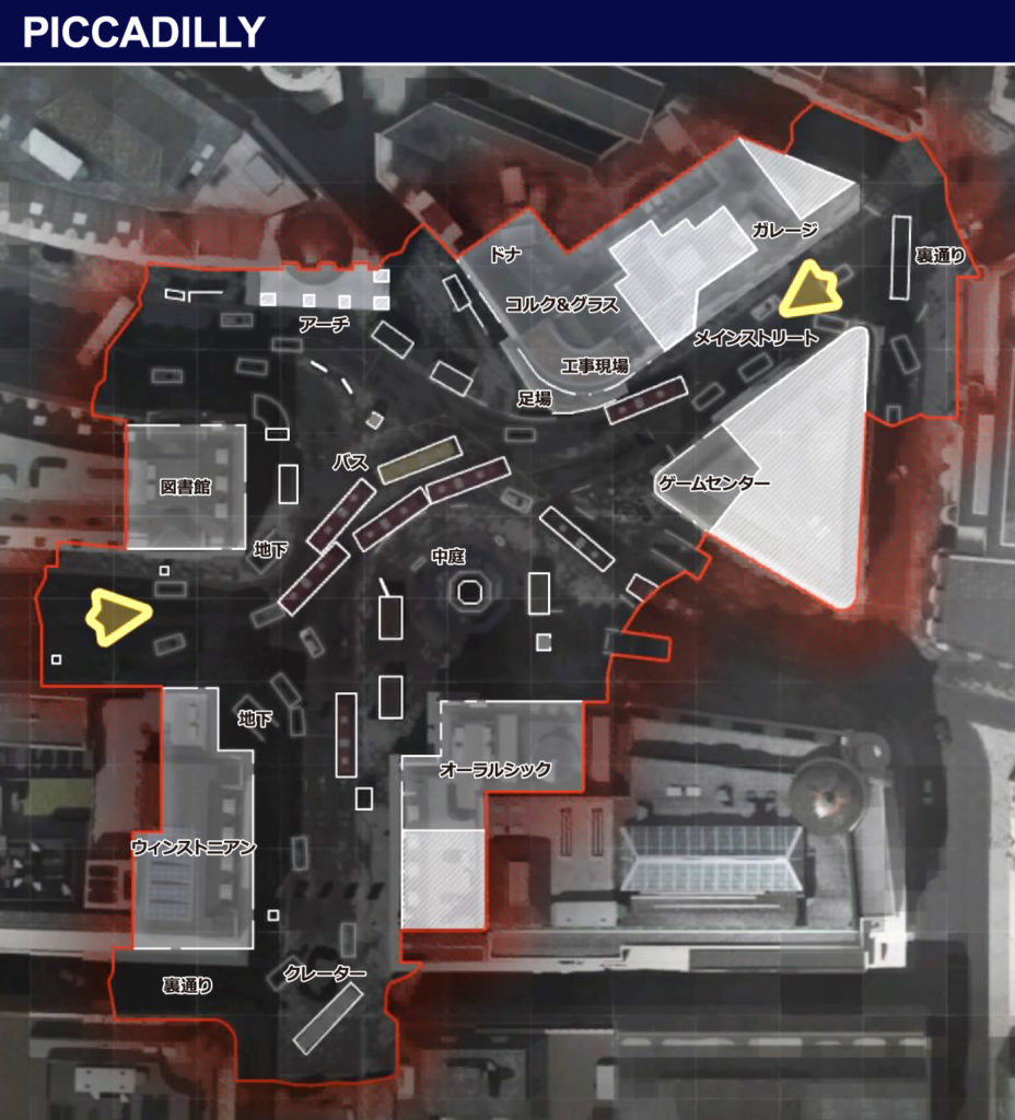 PICCADILLY-map