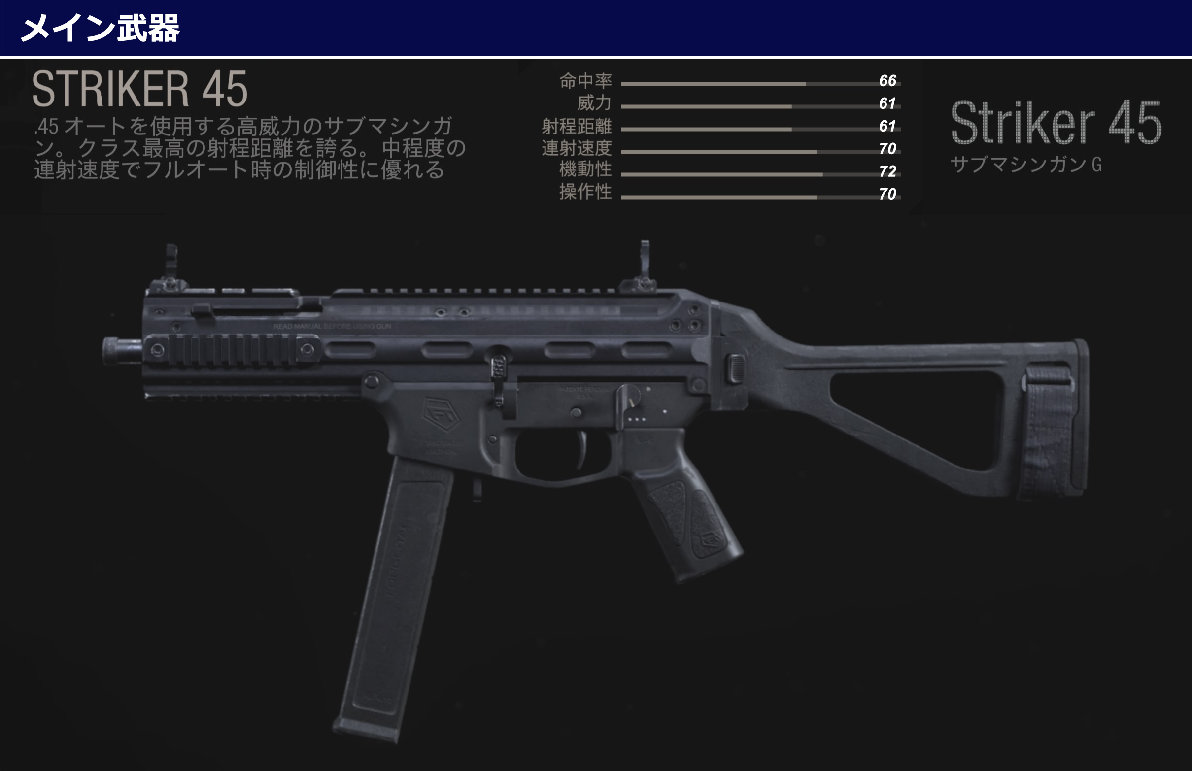 Striker-45