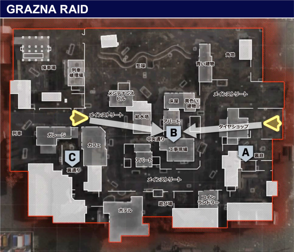 DOMINATION-GRAZNA-RAID-map